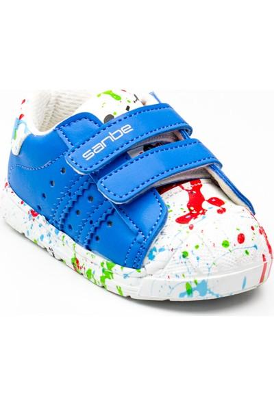Sanbe 128 T 5410 Sax Mavi Bebek Spor Ayakkabı