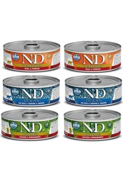 N&D Nd Kedi Konserve 70 gr 12 Adet