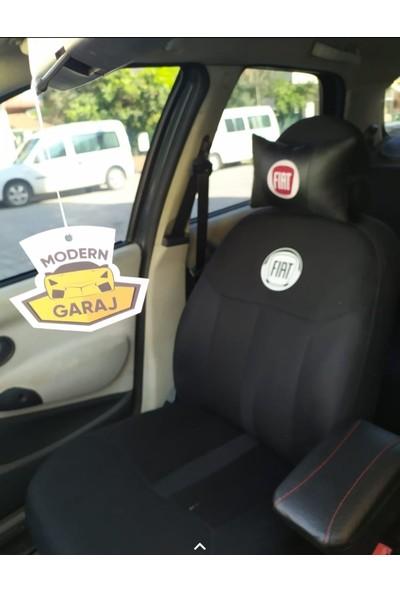 Hep Garaj Fiat Linea Fiat Logolu Ön Arka Oto Koltuk Kılıfı