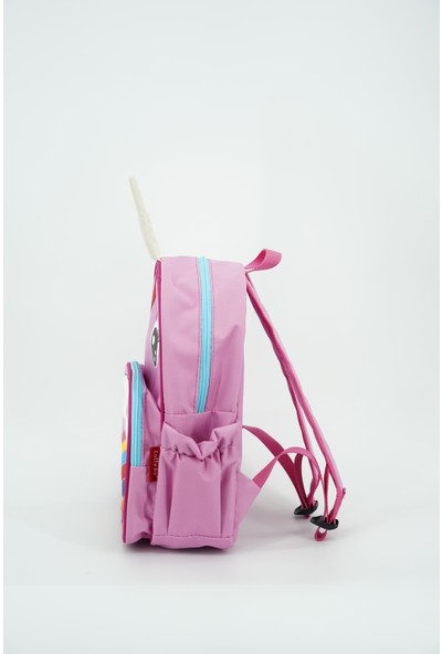 Lullaby Unicorn Anaokulu Sırt Çantası Pembe