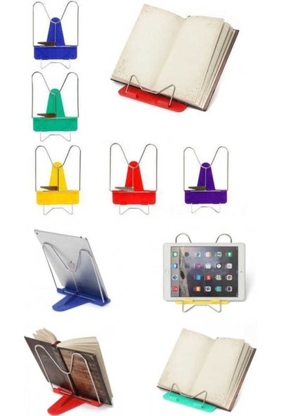 Pembe Karınca Kitap Standı Plastik