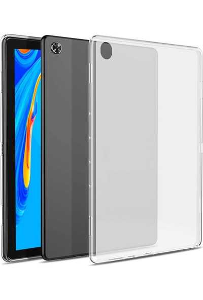 "Microcase Lenovo Tab M8 TB-8505F TB-8505X TB-8505I 8.0"" Silikon Kılıf - Şeffaf"