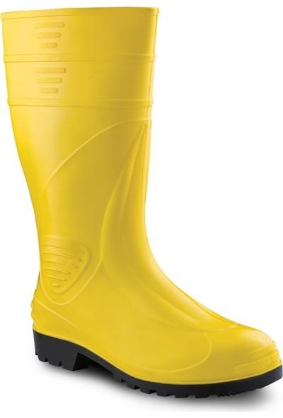 Gezer Çizme Uzun Konç Sarı