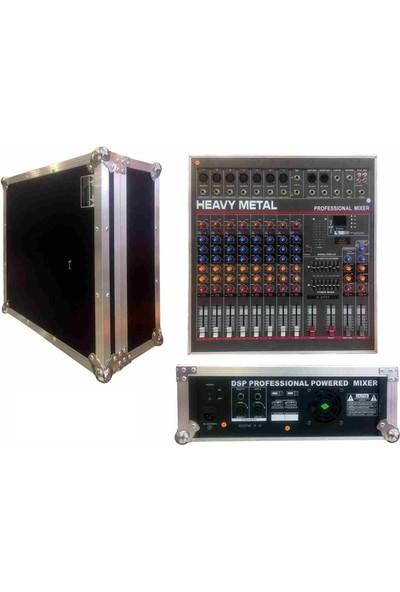 Cooma B-2731 9 Kanal(7 Mono 2 Stereo) 2 x 500 Watt Case Power Anfi Usb-Bluetooth-99 Effect-7 Band Eq-