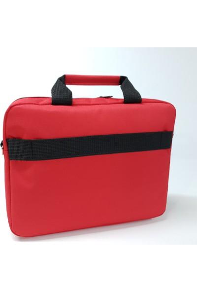"""Exception 13,3"""" ve 14"""" Uyumlu Laptop Çantası Kırmızı"""