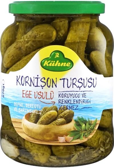 Kühne Ege Usulü Kornişon Turşu 720 ml