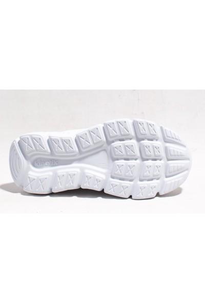 Kınetıx Helıum Beyaz Pembe Günlük Kız Çocuk Spor Ayakkabı