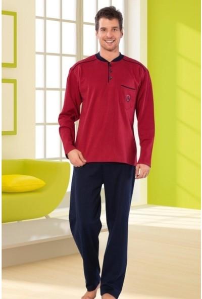 Işılay Yeni Sezon Erkek Pijama Takımı Uzun Kol