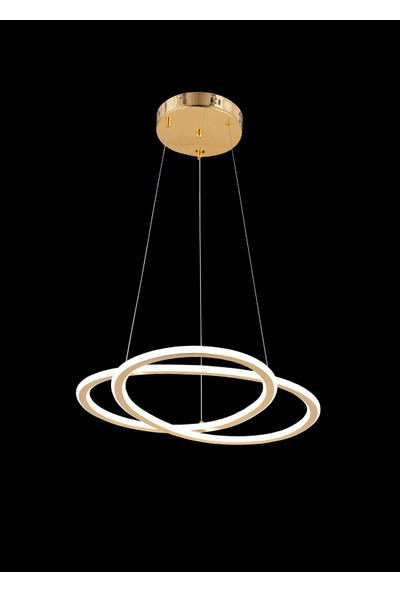Luna Lighting Modern Luxury Şık LED Gold Sarkıt Ledli Avize