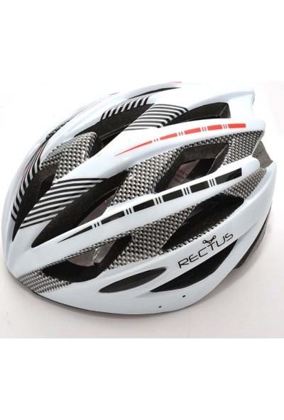 Zhongli Bisiklet Kaskları Rectus Arkadan Ayarlanabilir Beyaz
