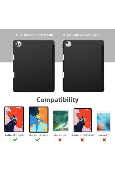 Esr Apple iPad Pro 12.9 2020 Kılıf-Rebound Pencil-Black
