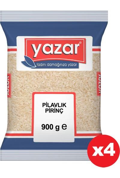 Yazar Pilavlık Pirinç 900 gr x 4'lü