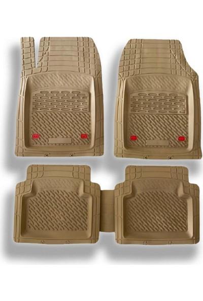 Team Car 1997 Model Kia Sportage Için 3D Havuzlu Tip Universal Paspas - Lüks Bej