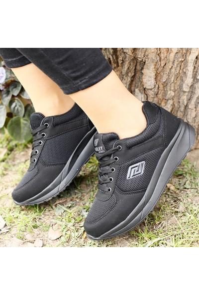 Parley Kadın Yuksek Taban Yazlık Sneaker Spor Ayakkabı