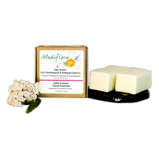 Mediflora / Katı Krem Yüz Temizleyici ve Makyaj Çıkarıcı (Konsantre) 120 gr