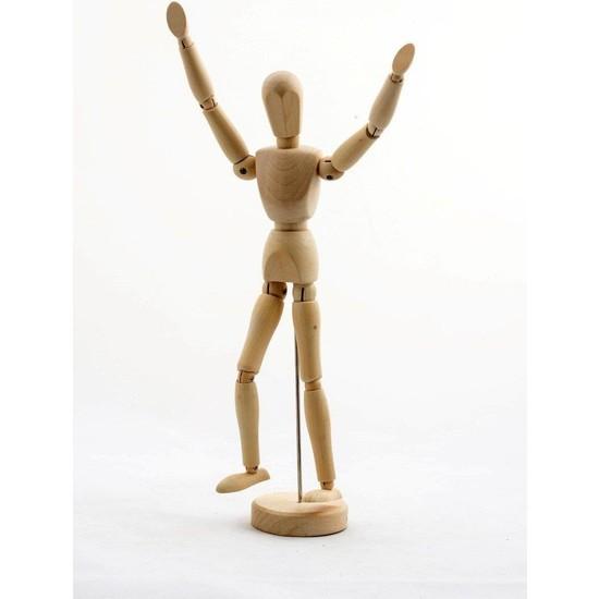 Alife Ahşap Model Manken 20 cm Eskiz Mankeni Modelling Hediyelik
