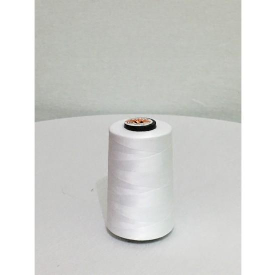 Tuana 120 Numara Beyaz Polyester Dikiş Ipliği