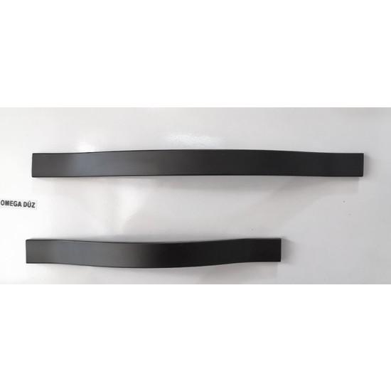 Vanni Kulp Omega Düz 224 mm Siyah Vanni