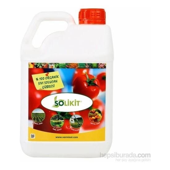 Vermisol VL50 % 100 Organik Sıvı Konsantre Solucan Gübresi 5 lt