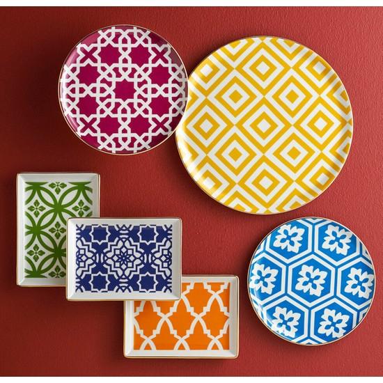 Porland Morocco Desen Karma Renk 18 PArça 6 Kişilik