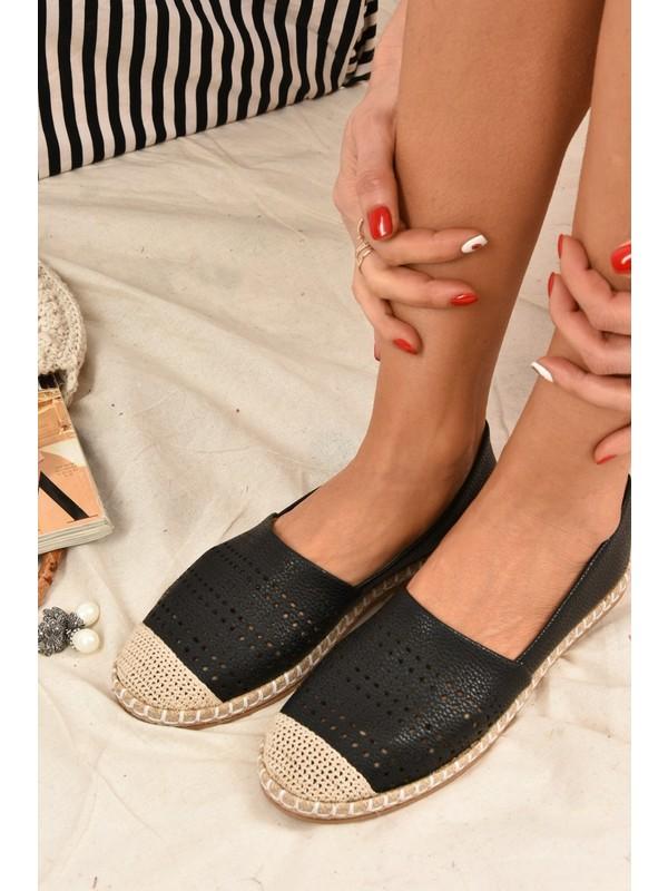Fox Shoes Siyah Kadın Ayakkabı K280275009