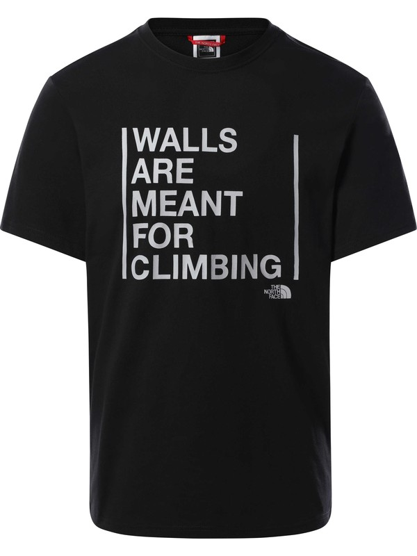 The North Face 3S3S Walls Are For Climbing Erkek T-Shirt