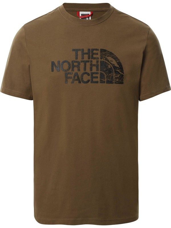 The North Face A3G1 Woodcut Dome Erkek T-Shirt