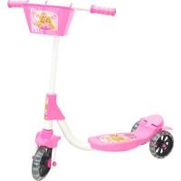Chubby Baby 3 Tekerlikli Sepetli Çocuk Scooter - Açık Pembe
