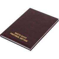 Gülpaş Hasta Kayıt Protokol Defteri 100 Yaprak Suni Deri Ciltli 20 x 28 cm