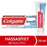 Colgate Sensitive Sensifoam Beyazlatıcı Diş Macunu 75 ml