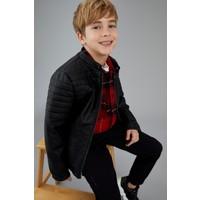DeFacto Erkek Çocuk Suni Deri Ceket