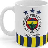 Mugs & Gift Fenerbahçe Kişiye Özel Isimli Baskılı Kupa Bardak