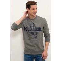 U.S. Polo Assn. Gri Sweatshirt 50234137-VR081