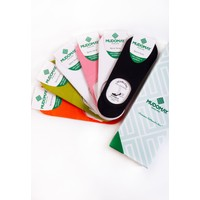Mudomay 6'lı Dikişsiz Bambu Babet Çorap