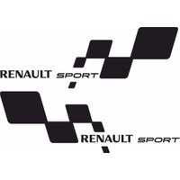 smoke Renault Sport Sticker