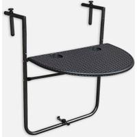 Bidesenal Katlanabilir Balkon Masası Askılı Masa Balkon Sehpası