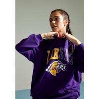 Defacto Nba Lakers Lisanslı Kapüşonlu Relax Fit Sweatshirt