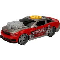 Maxx Wheels Sesli ve Işıklı Muscle Araba - Kırmızı