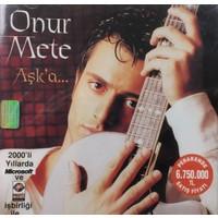 Onur Mete - Aşk'a ( CD )