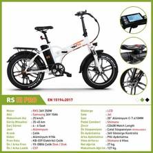 Rks Rsııı - Rs3 Pro Katlanabilir Elektrikli Bisiklet