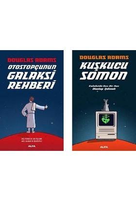 Otostopçunun Galaksi Rehberi Tek Cilt 5 Kitap + Kuşkucu Somon Set - Douglas Adams