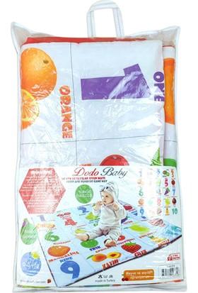 Aybaby Ingilizce Tükçe Meyveli Oyun Matı 105 x 105 cm