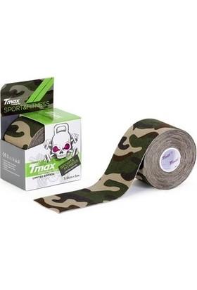 Tmax Tape Tex Kinesio Band Yeşil Kamuflaj 5CMX5M
