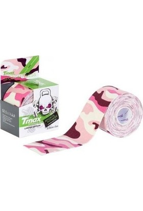 Tmax Tape Tex Kinesio Band Pembe Kamuflaj 5CMX5M