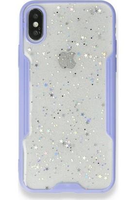 "Moserini Samsung Galaxy Tab A7 SM-T500 10.4"" Smart Slim Gri Tablet Çantası Rubber Silikon Kılıf - Cam Mor"