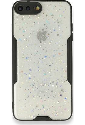 """Moserini Samsung Galaxy Tab A7 SM-T500 10.4"""" Smart Slim Fuşya Tablet Çantası Rubber Silikon Kılıf - Cam Siyah"""