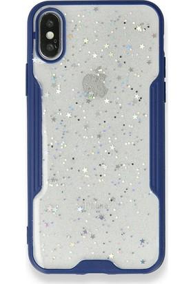 """Moserini Samsung Galaxy Tab A7 SM-T500 10.4"""" Smart Slim Gri Tablet Çantası Rubber Silikon Kılıf - Cam Lacivert"""