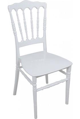 Mandella Silver Sandalye Napolyon 2 Adet