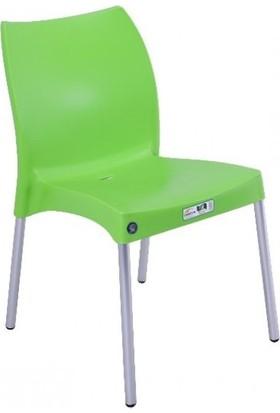 Mandella Nil Sandalye 6 Adet Alüminyum Ayaklı