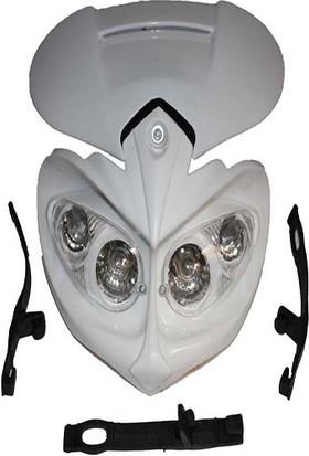 Far Maske Üniversal Beyaz